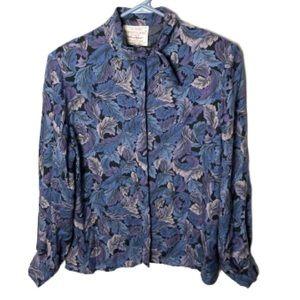 Pendleton vintage petites sophisticates shirt top